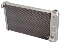RADIATOR-ALUMINUM-NATURAL-DIRECT FIT-350 CI-AUTO-69-72 (#E8949) USA SUPPLY