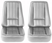 COVER-SEAT-100% LEATHER-4 PIECES-68(#E6946)