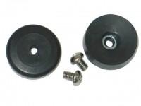 STOP SET-WINDSHIELD WIPER DOOR-WITH SCREWS-68-72 (#E11909) 2C51