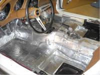 INSULATION-FLOOR PAN-HUSHMAT-68-82 (#E20629)