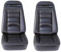 COVER-SEAT-100% LEATHER-4 PIECES-72-74(#E6963)