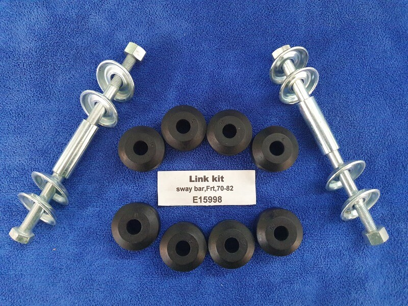 LINK KIT-SWAY BAR-FRONT-WB HEADMARK WITH CORRECT FONT-CORRECT WASHERS70-82 (#E15998) 2D2