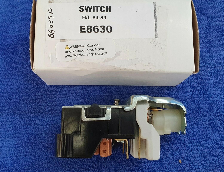 SWITCH-HEADLAMP-USA O.E.M.-EACH-84-89 (#E8630)