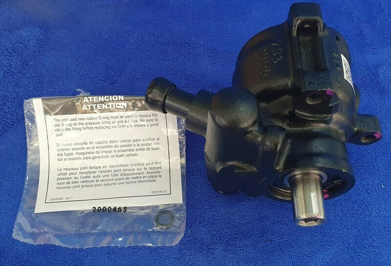 PUMP-POWER STEERING-REBUILT 84-91 (#E22507) 2C1