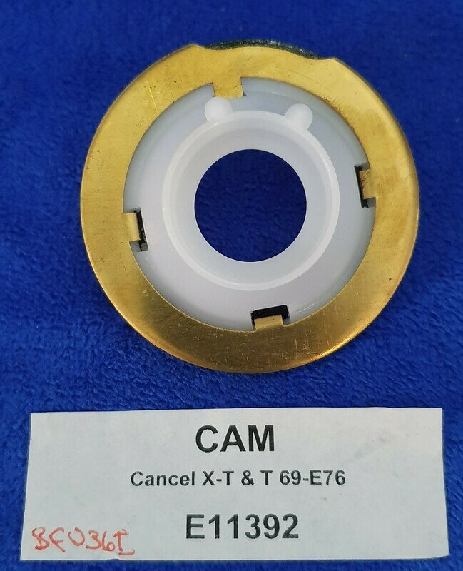 CAM-TURN SIGNAL-CANCEL-W-OUT TILT AND SCOPING-69-76 (#E11392)