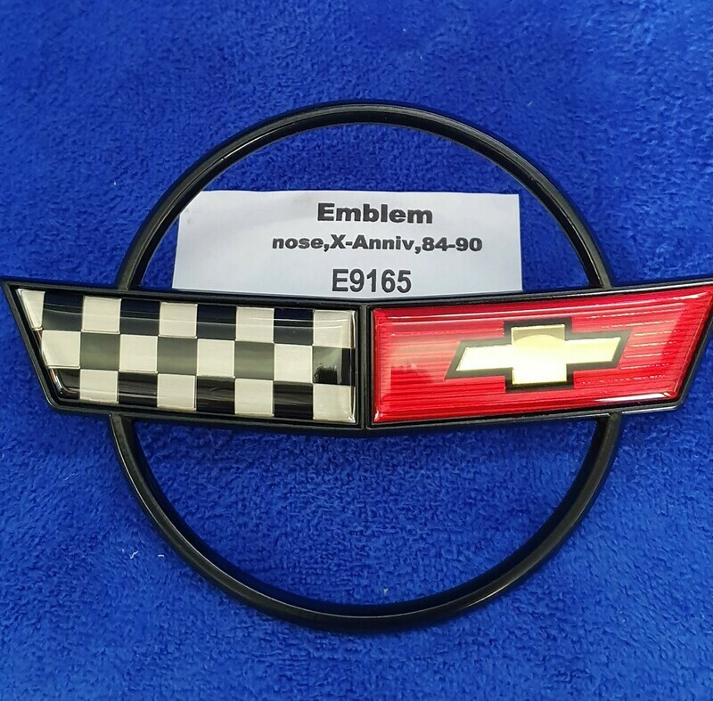 EMBLEM-FRONT-EXCLUDES 35th ANNIVERSARY-84-90(#E9165)
