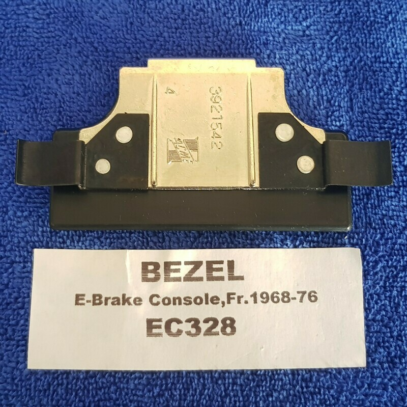 BEZEL-EMERGENCY BRAKE CONSOLE-FRONT-68-76 (#EC328)  3C4