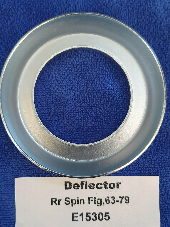 DEFLECTOR-REAR SPINDLE FLANGE-63-82 (#E15305)