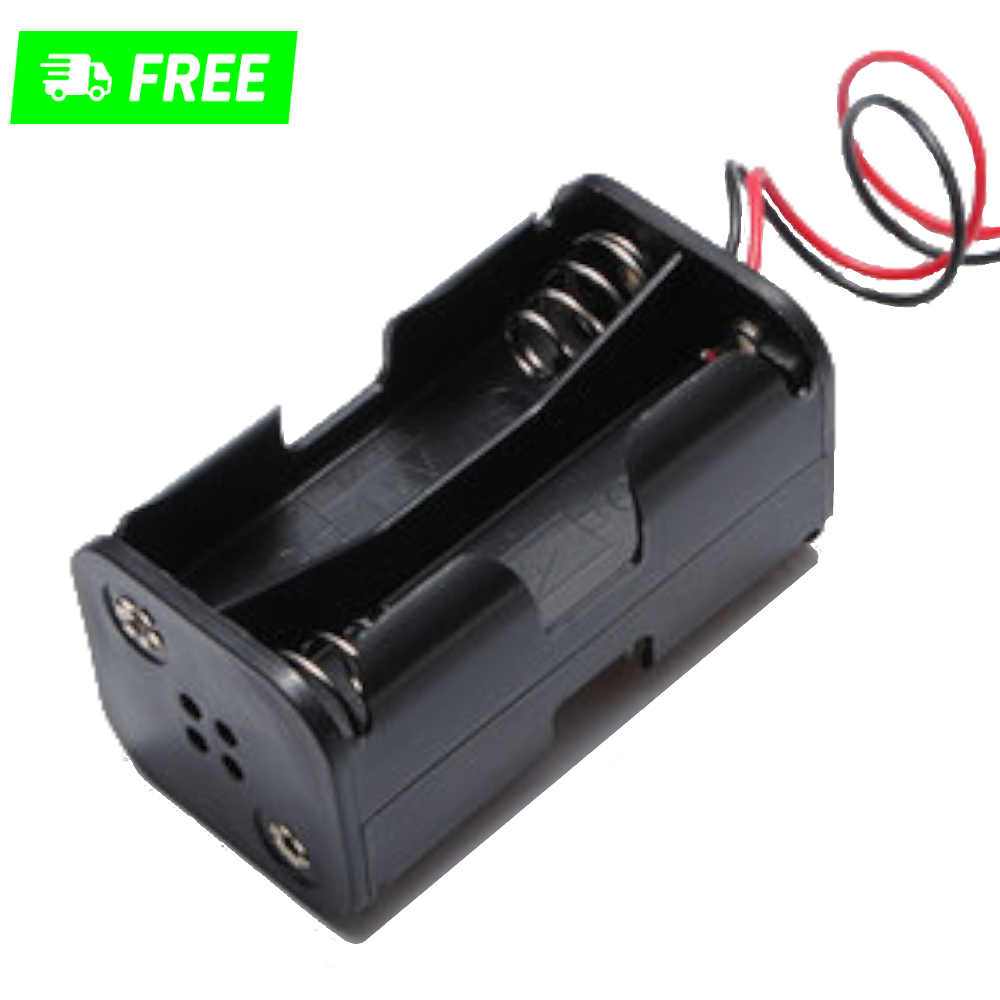 battery holder for 4AA with switch