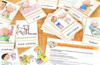 Dagritme-kaarten voor Thuis