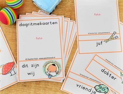 Dagritme-kaarten thema      Dit zijn wij