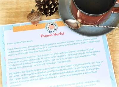 Brief voor Thuis Thema Herfst