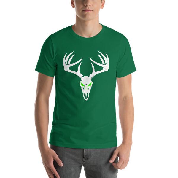 Deer Skull Short-Sleeve Unisex T-Shirt
