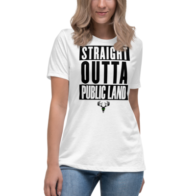 Straight Outta Public Land Women's Relaxed T-Shirt