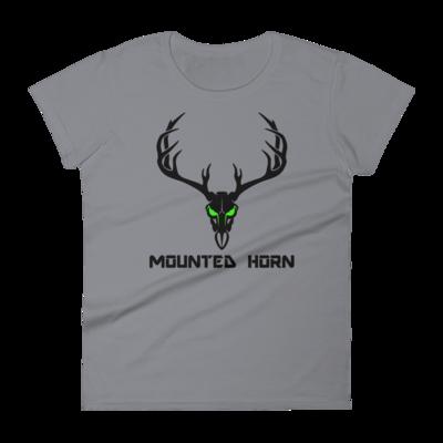Mule Deer Skull Women's short sleeve t-shirt