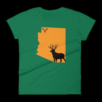 AZ State Mule Deer Women's short sleeve t-shirt