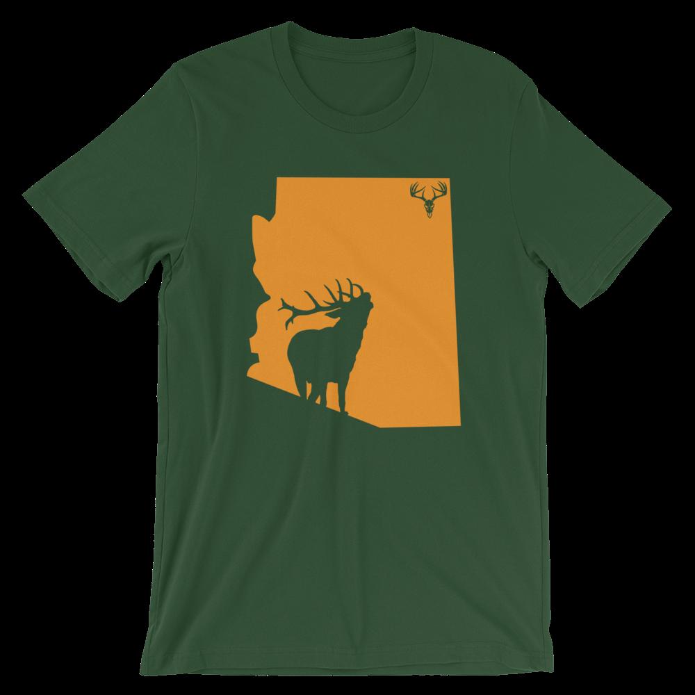 AZ State Elk Short-Sleeve Unisex T-Shirt