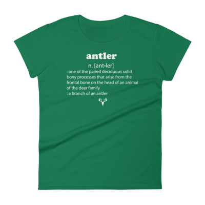 Antler Meaning Women's short sleeve t-shirt