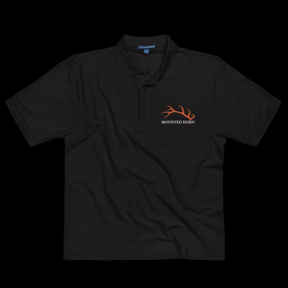 Elk Antler Men's Premium Polo