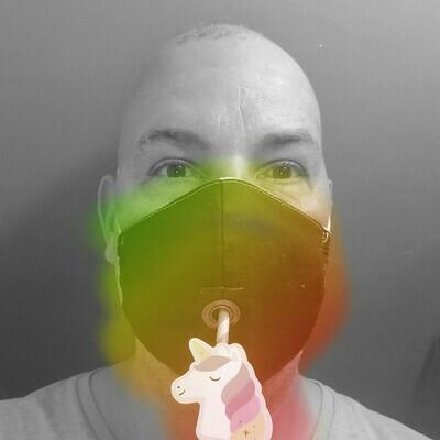Lil Ole Sip Face Mask - Single Elastic Strap