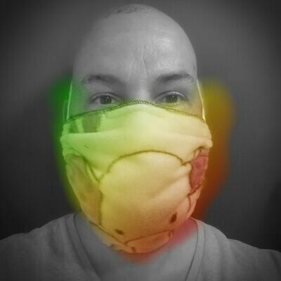 Bib Face Mask - Single Tie