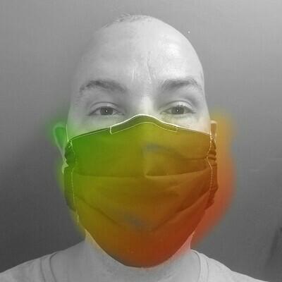 Accordion Deluxe Face Mask - Single Elastic