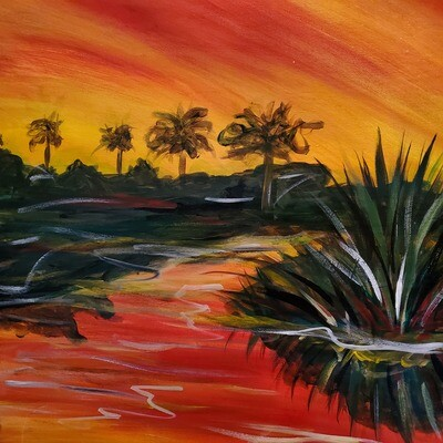 Swamp Sunset