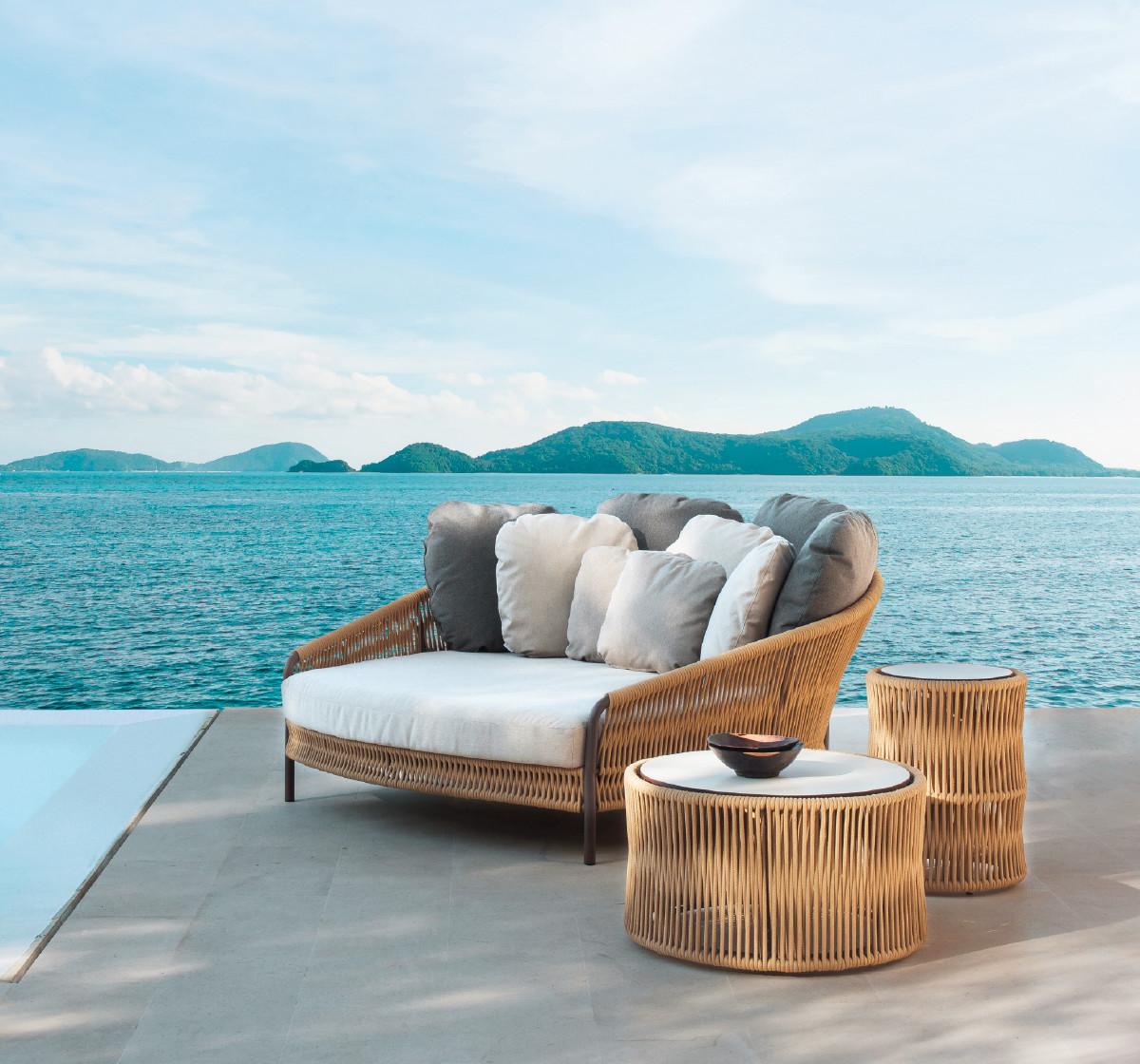 WEAVE Вив плетеная мебель Point Испания