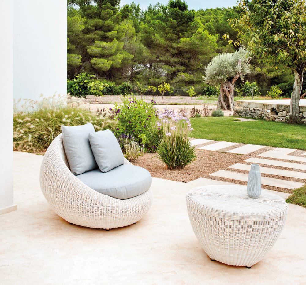 BUBBLE Бабл плетеная мебель из искусственного ротанга Point Испания
