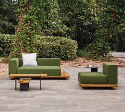 PAL Пал мебель из влагостойкой ткани и тика Point Испания