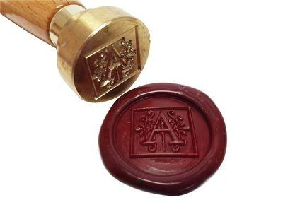 Siegel - Einzelbuchstabe in Zierschrift