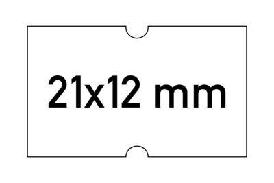 Etiketten 21x12 mm weiss G2 - permanent