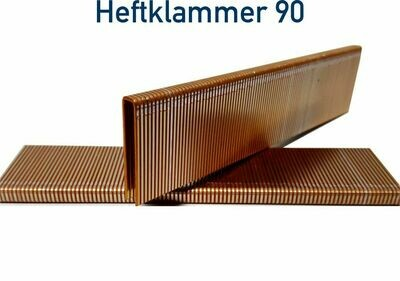 Heftklammer 90