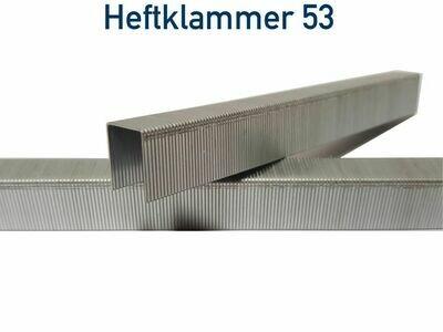 Heftklammer 53