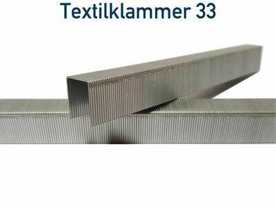 Heftklammer 33