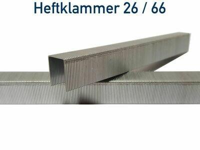 Heftklammer 26 / 66