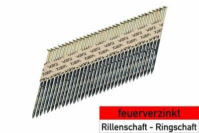 1.500 Streifennägel 42x130 feuerverzinkt Rundkopf
