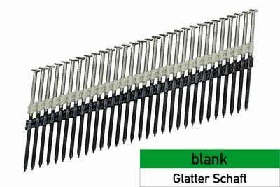 660 Streifennägel 4.2x160 blank - glatt - plastikgebunden