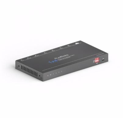 1x4 4K HDMI Verteiler / Downscaler inkl. Audio-Extraktion