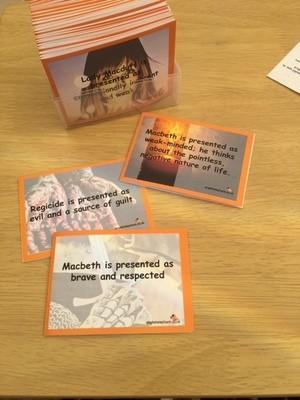 Macbeth Revision Flashcards