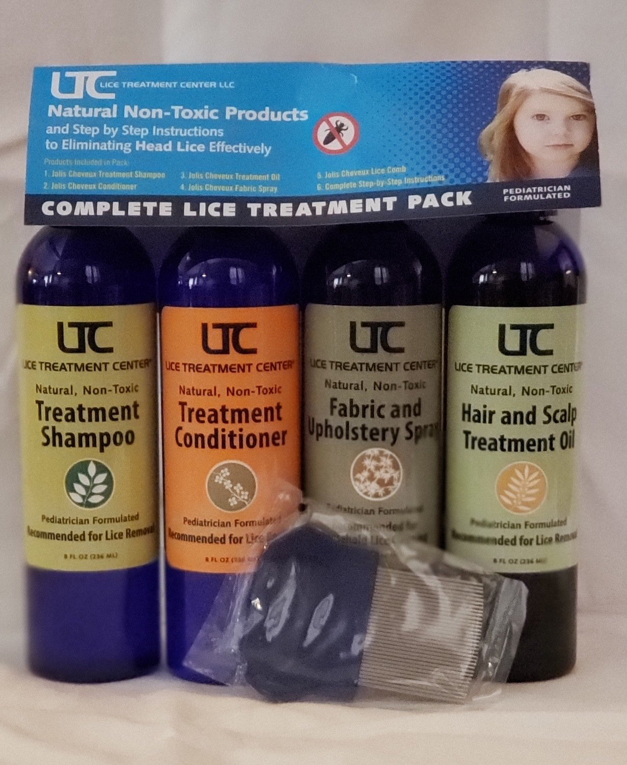 Complete Lice Treatment Pack