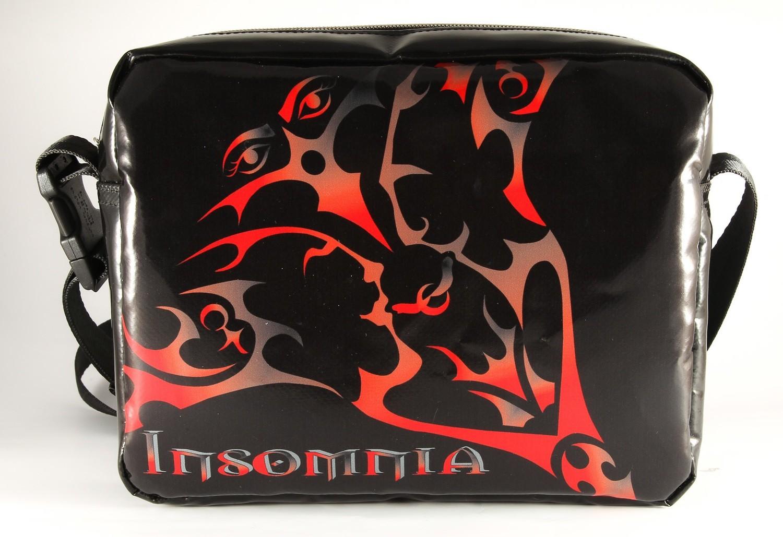 Handtasche INSOMNIA Volcano Black - Handarbeit - Made in Germany