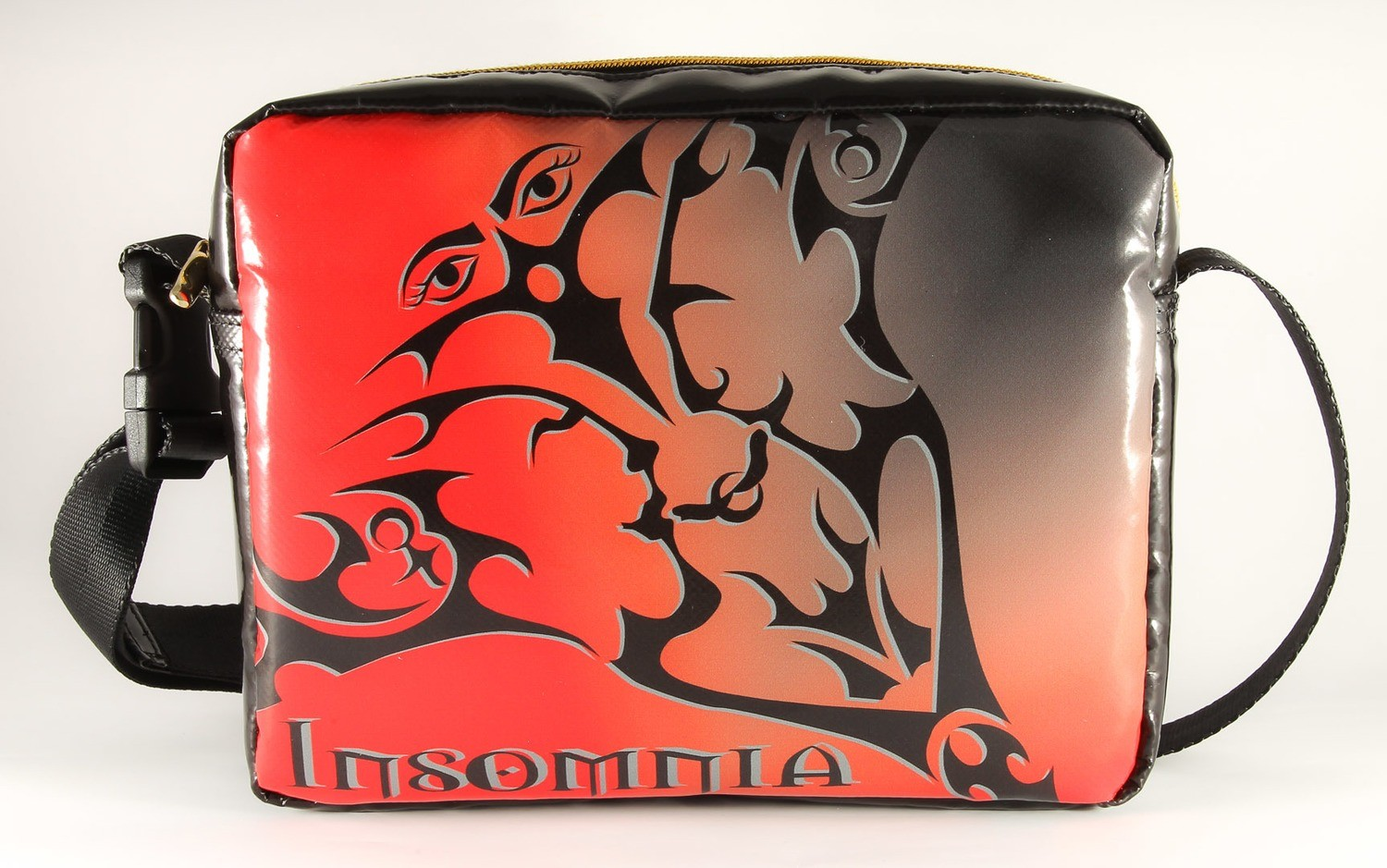 Handtasche INSOMNIA Volcano Red - Handarbeit - Made in Germany