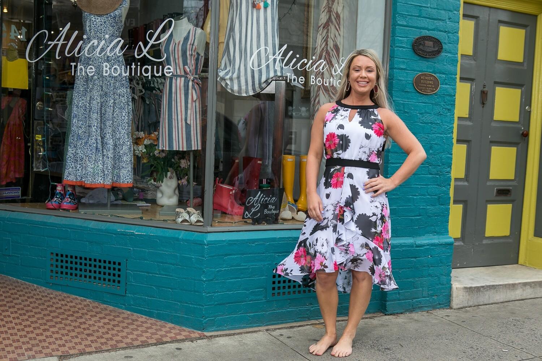 Joules Flower Dress
