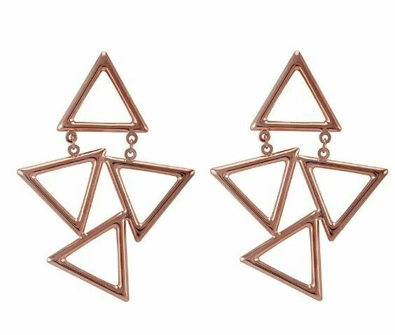 Sheila Fajl Siggi Earring Rose Gold