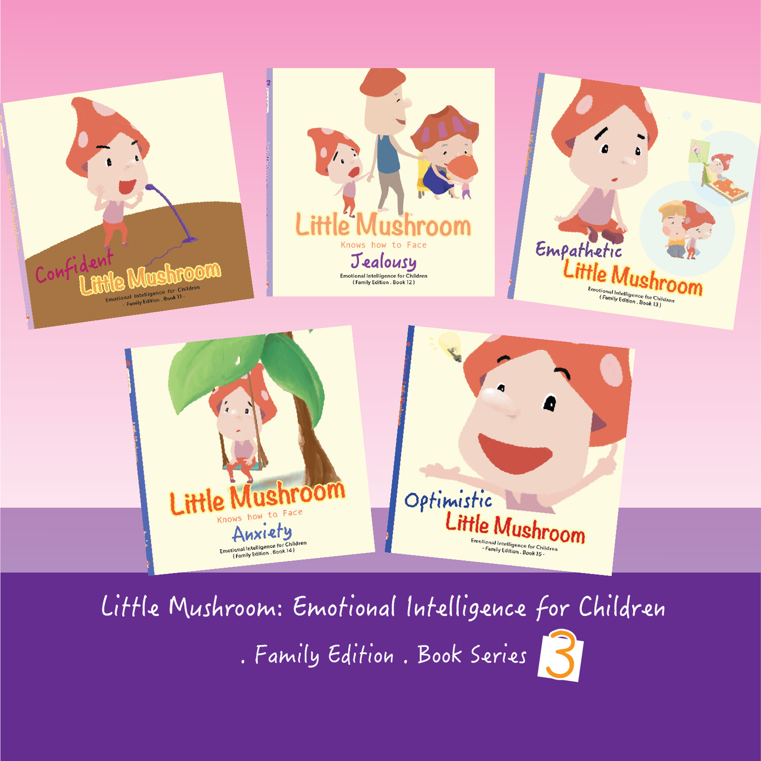 Family Edition - Series 3 (5books)