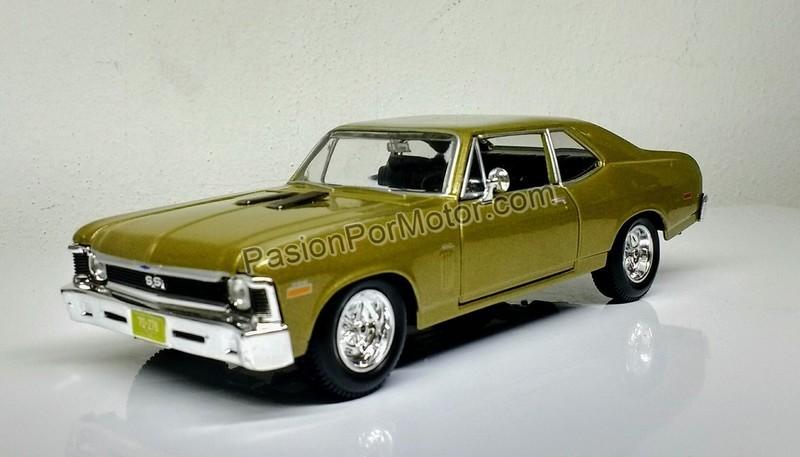 1:24 Chevrolet Nova SS 1970 Arena Maisto Special Edition En Display / A Granel