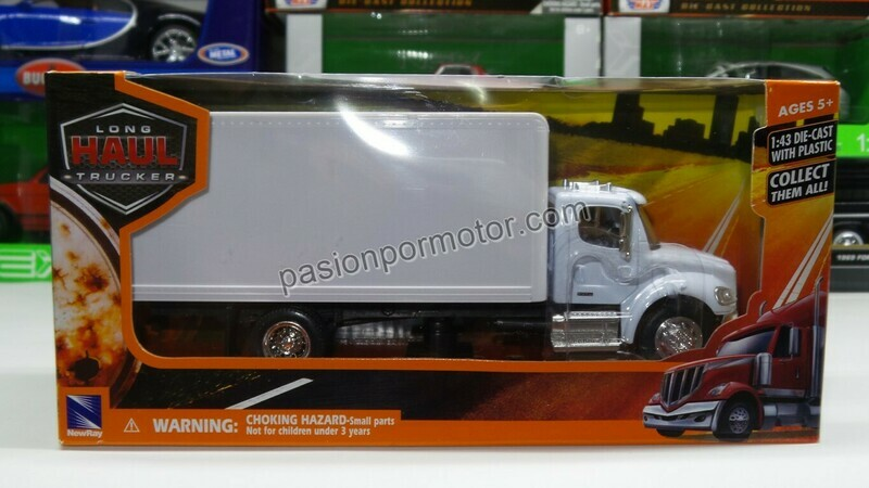 1:43 Freightliner M2 Business Class Caja Seca Blanco New Ray Rabon