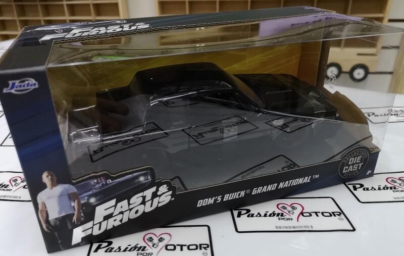 1:24 Buick Grand National 1987 Dom's Toretto Negro Rapido Y Furioso 4 Jada Toys En Caja
