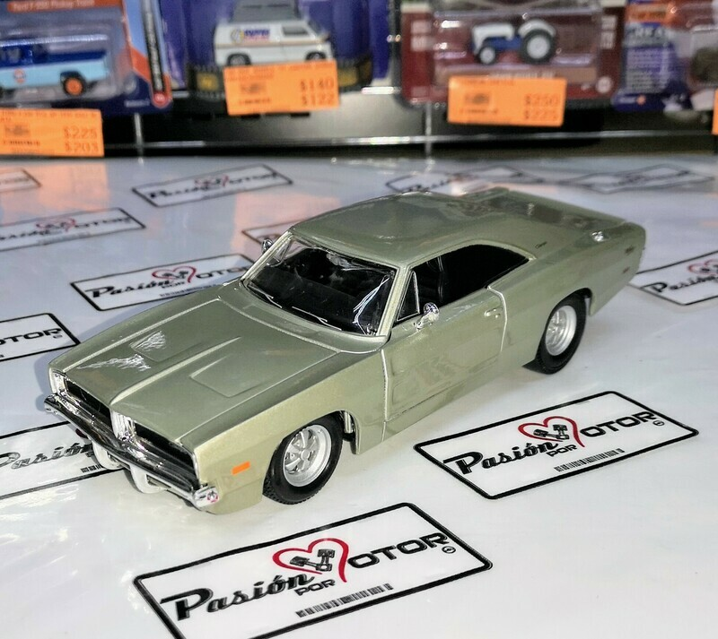 1:25 Dodge Charger R/T 1969 Arena Maisto Special Edition En Display / A Granel 1:24